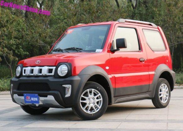Китайцы раньше Suzuki построили электрический Jimny 1
