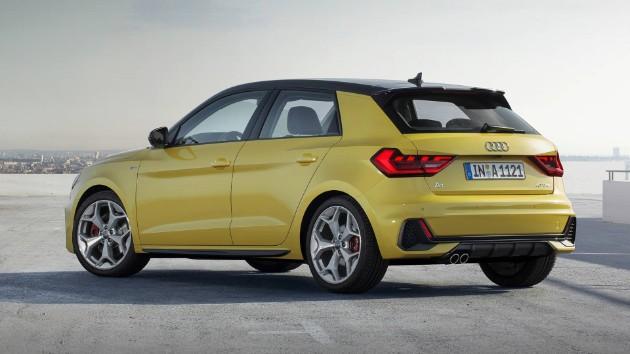 Audi презентовала компактный хетчбэк A1 2