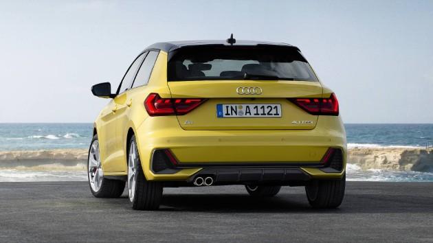 Audi презентовала компактный хетчбэк A1 4