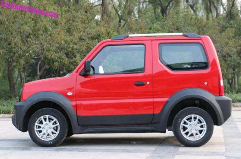 Китайцы раньше Suzuki построили электрический Jimny 3
