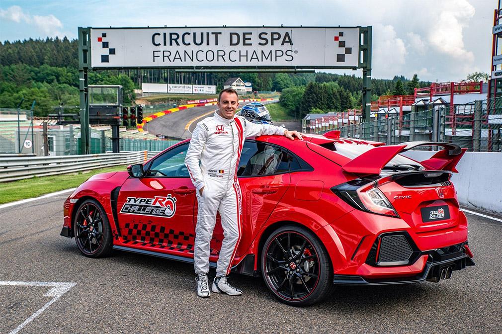 Хот-хэтч Honda Civic Type R стал рекордсменом трассы в Спа 1