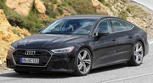 Новая Audi S7 выехала на финальные тесты 1