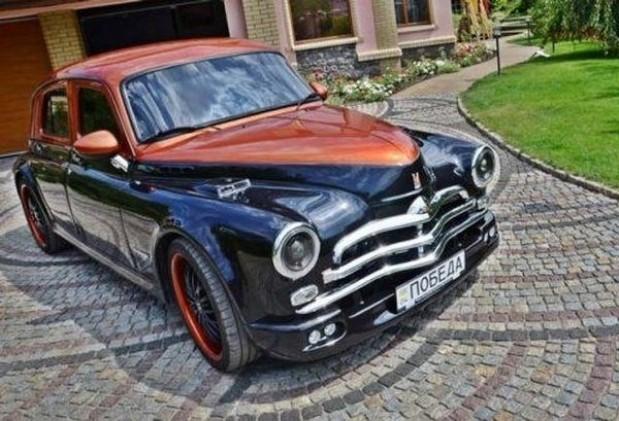 Украинец построил автомобиль мечты из ГАЗ М-20 «Победа» и BMW 1