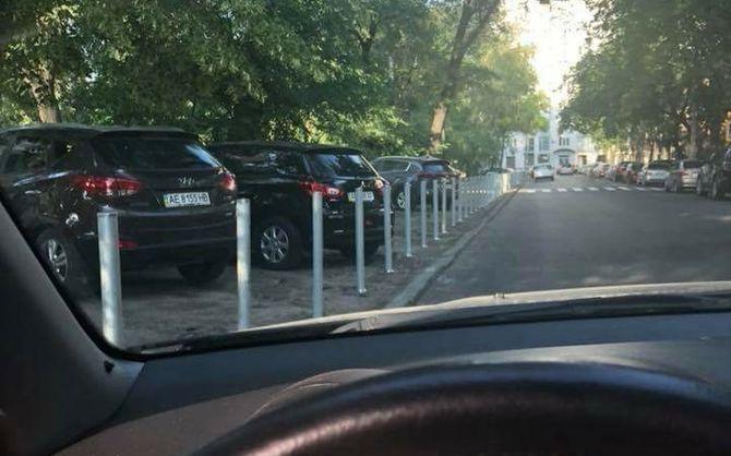 Коммунальщики оригинально «наказали» героев парковки 1