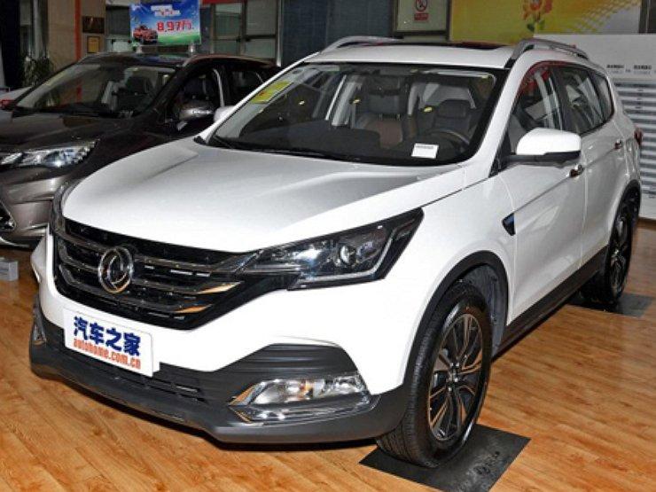Dongfeng раскрыл внешний облик обновленного AX7 1