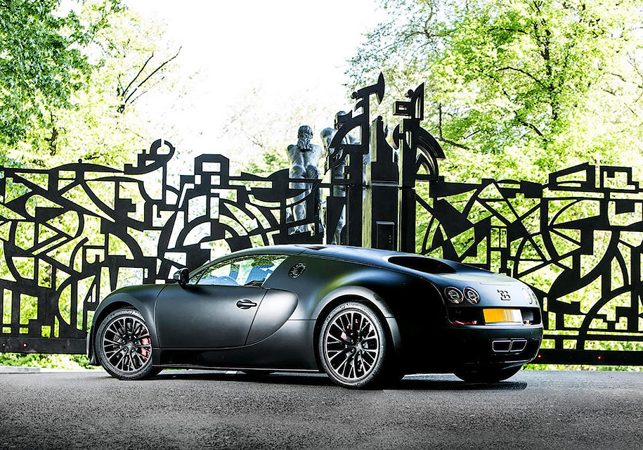Последний Bugatti Veyron Super Sport выставят на аукцион 2