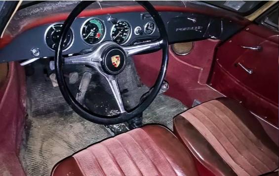 В американском амбаре нашли редкий Porsche из 60-х 2