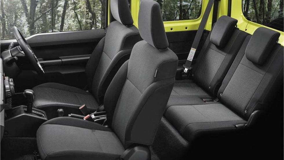 Новый Suzuki Jimny показался на официальных фото 4