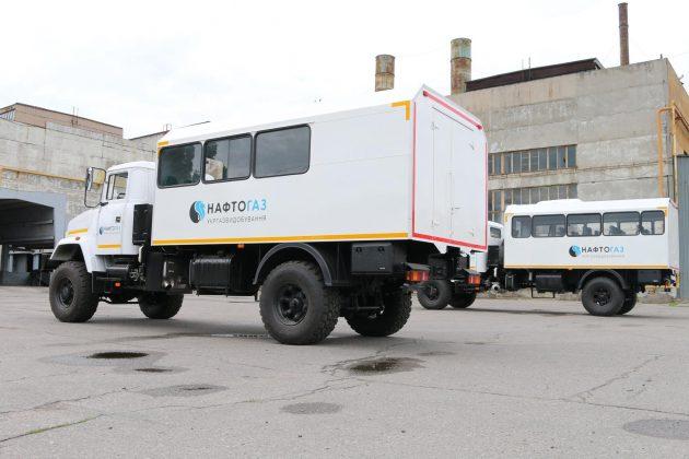 КрАЗ выпустил новую партию спецавтомобилей 1