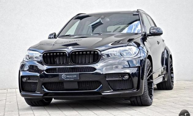 BMW X5 M50d примерил «костюм» от Hamann 1