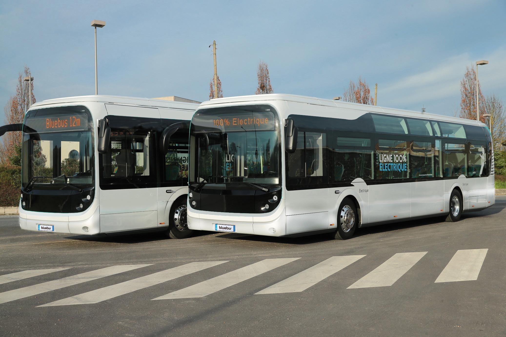 Французский производитель электробусов получил кузова Богдан 1