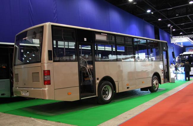 ЛАЗ выпустит новый автобус 1