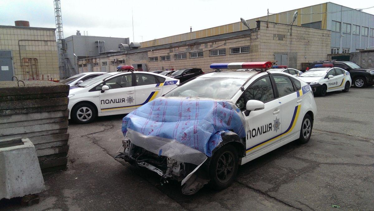 Аудит Нацполиции выявил сотни разбитых автомобилей 1