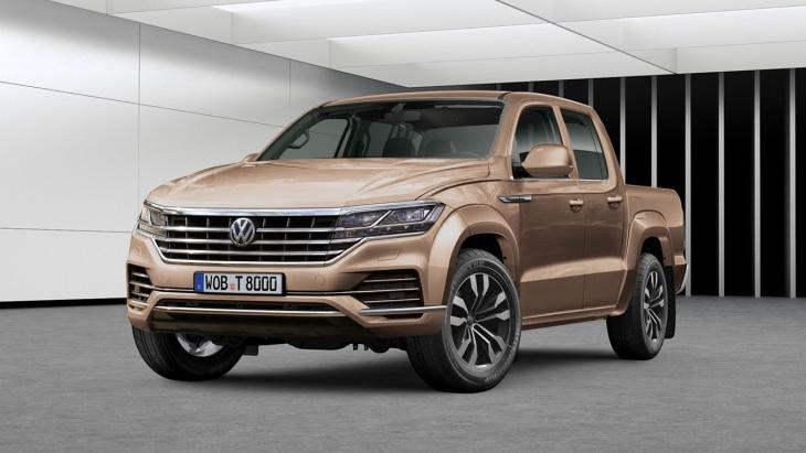 Появились первые изображения нового VW Amarok 1