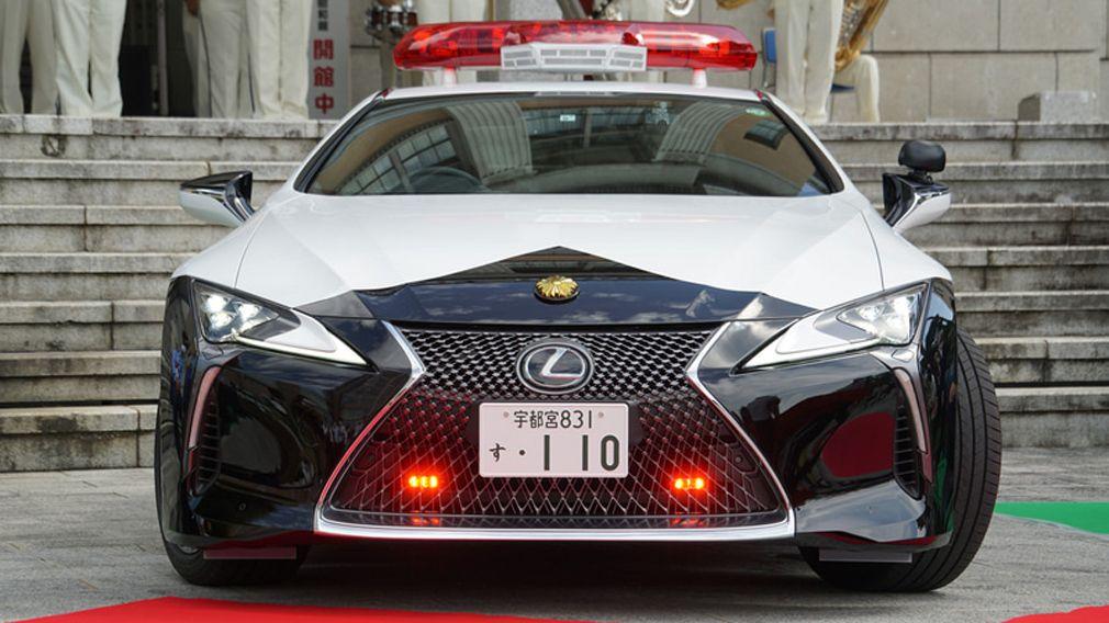 Полиция Японии будет патрулировать улицы на роскошном Lexus LC 500 1