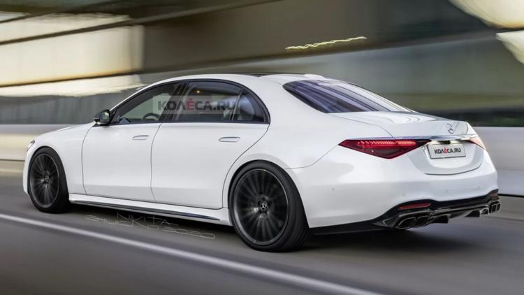Первые фото нового Mercedes-AMG S 63 2