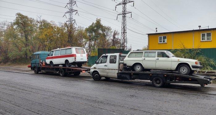 В Украине спасти от утилизации 8 раритетных машин 4