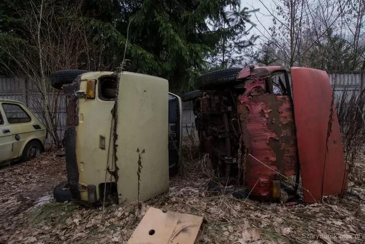 В Европе нашли уникальную свалку с украинскими автомобилями 1