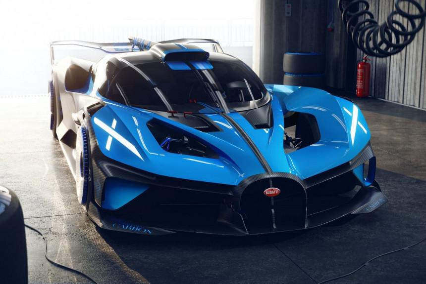 Bugatti представила болид с рекордными характеристиками 1