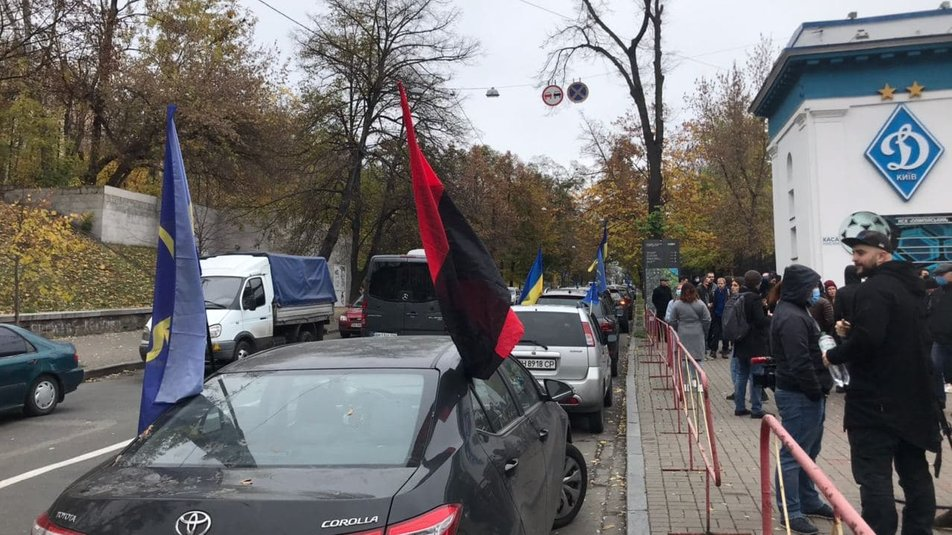 «Тупицкий - вали в Ростов»: «Автомайдан» устроил акцию протеста 3