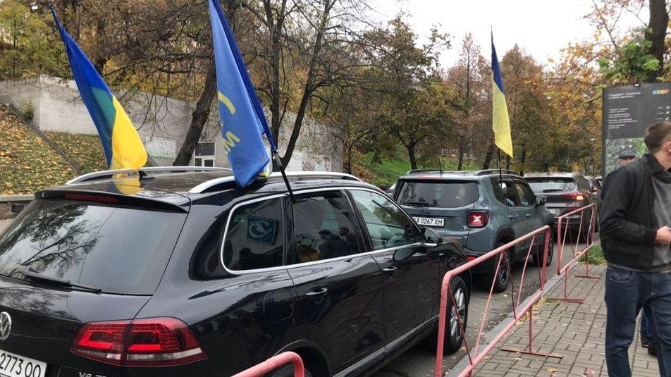 «Тупицкий - вали в Ростов»: «Автомайдан» устроил акцию протеста 4