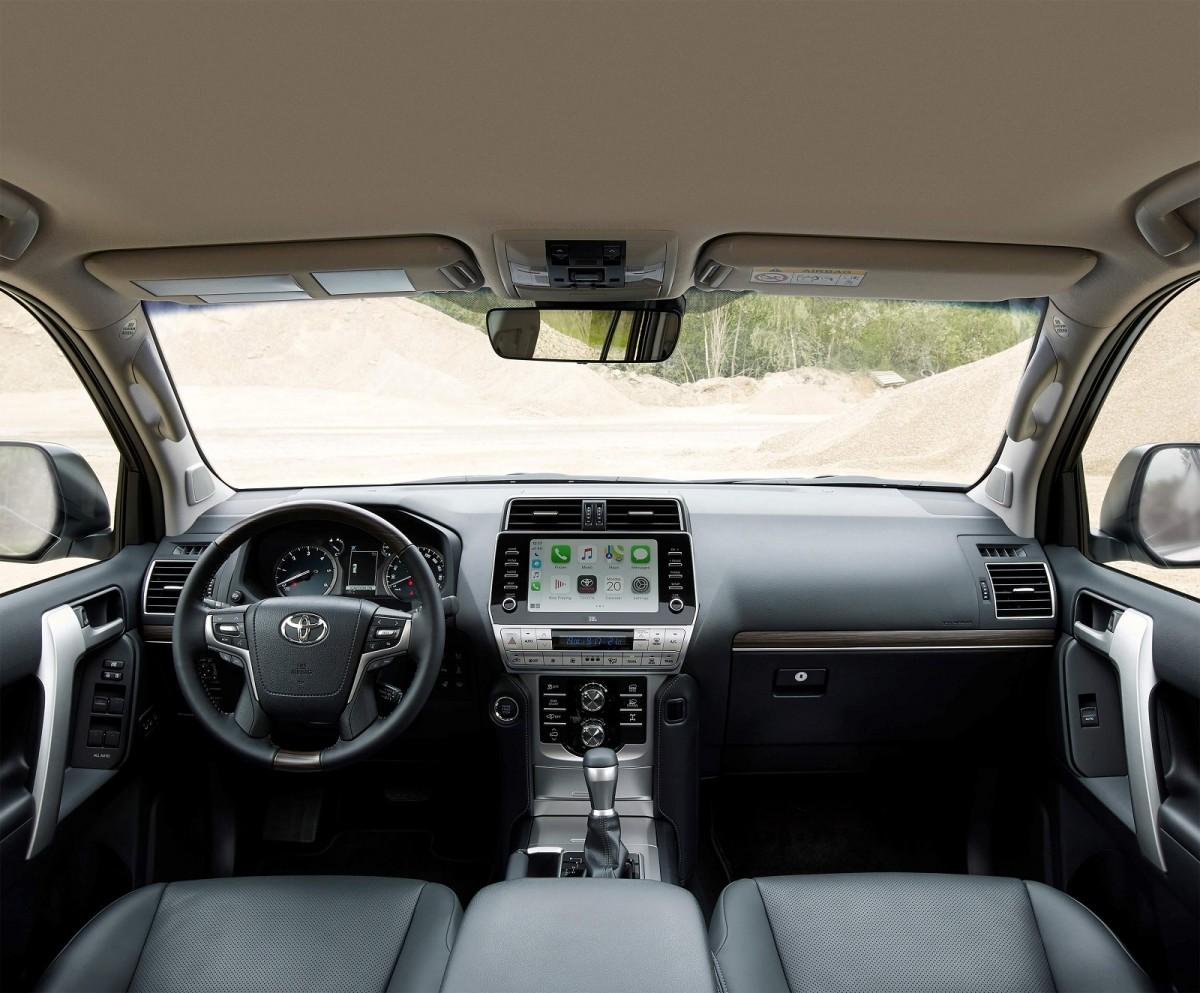 В Украине стартуют продажи обновленного Toyota Land Cruiser Prado 2021 3