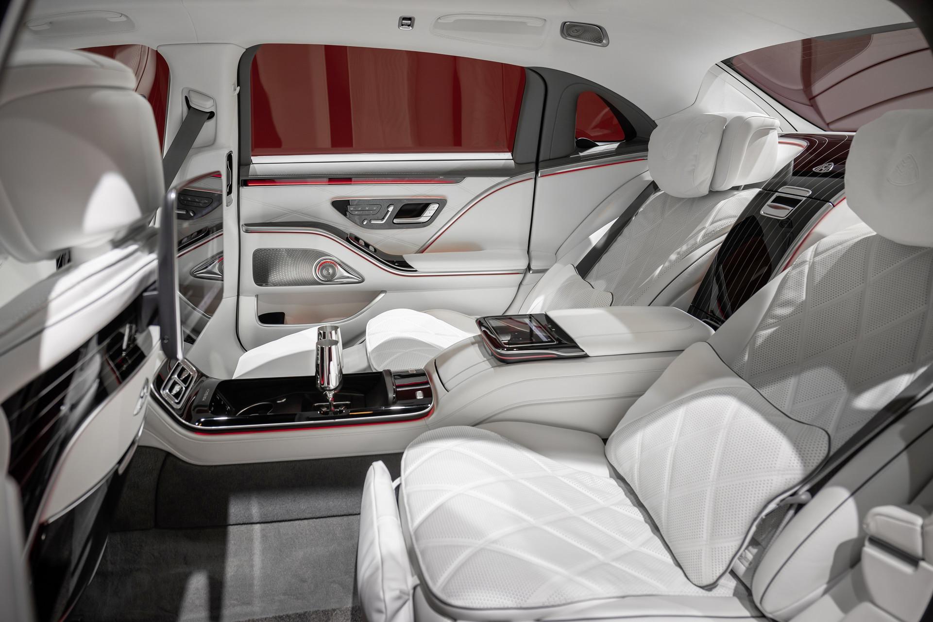 Эталон роскоши: Mercedes представил новый Maybach S-Class 4