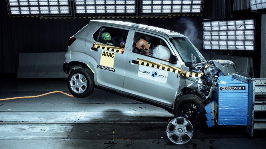 Suzuki S-Presso полностью провалил проверку на безопасность 1