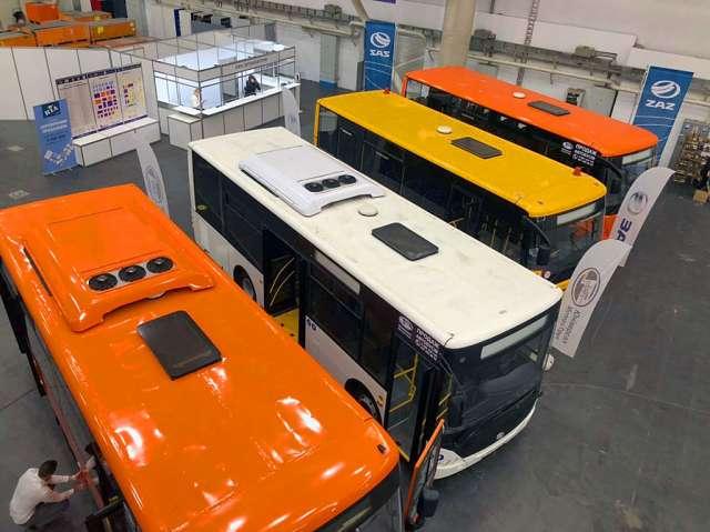«ЗАЗ» представил новую линейку автобусов 1