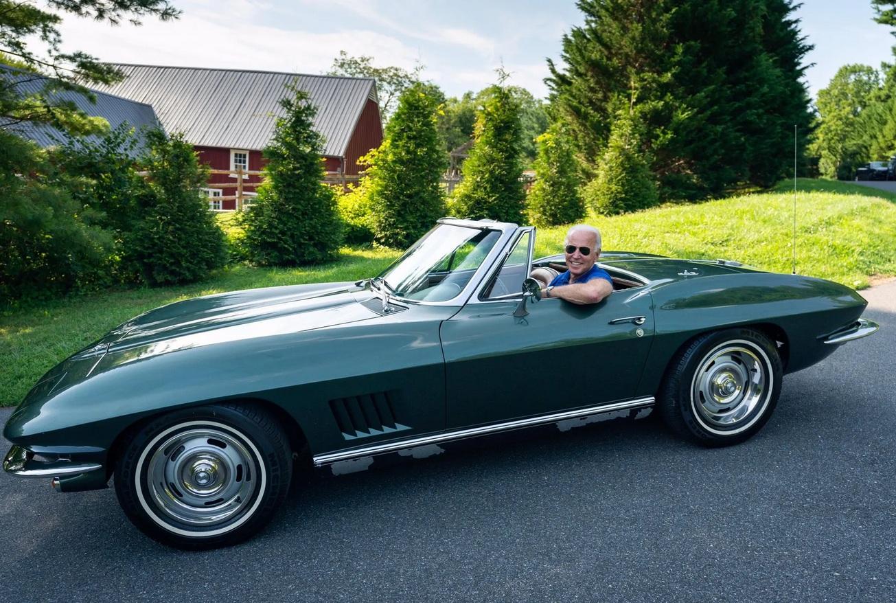 Джо Байден - новоизбранный президент США и заядлый автомобилист 2