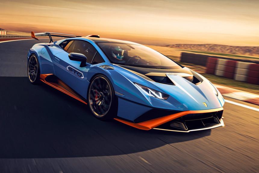 Lamborghini представила заднеприводный суперкар Huracan STO 2