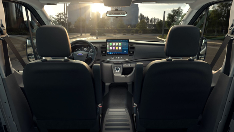 Ford презентовал электрический фургон Transit  2
