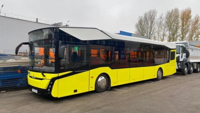 В Украине представили новый транспорт 1