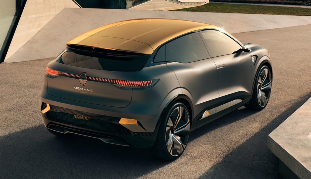 В сети появились новые изображения Renault Megane eVision с нулевым уровнем выбросов (фото) 3