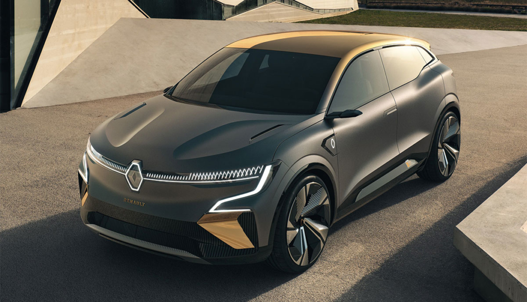 В сети появились новые изображения Renault Megane eVision с нулевым уровнем выбросов (фото) 1