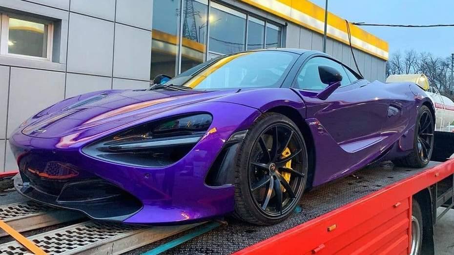 Самый дорогой биток из США на дорогах Украины - McLaren 720S 2