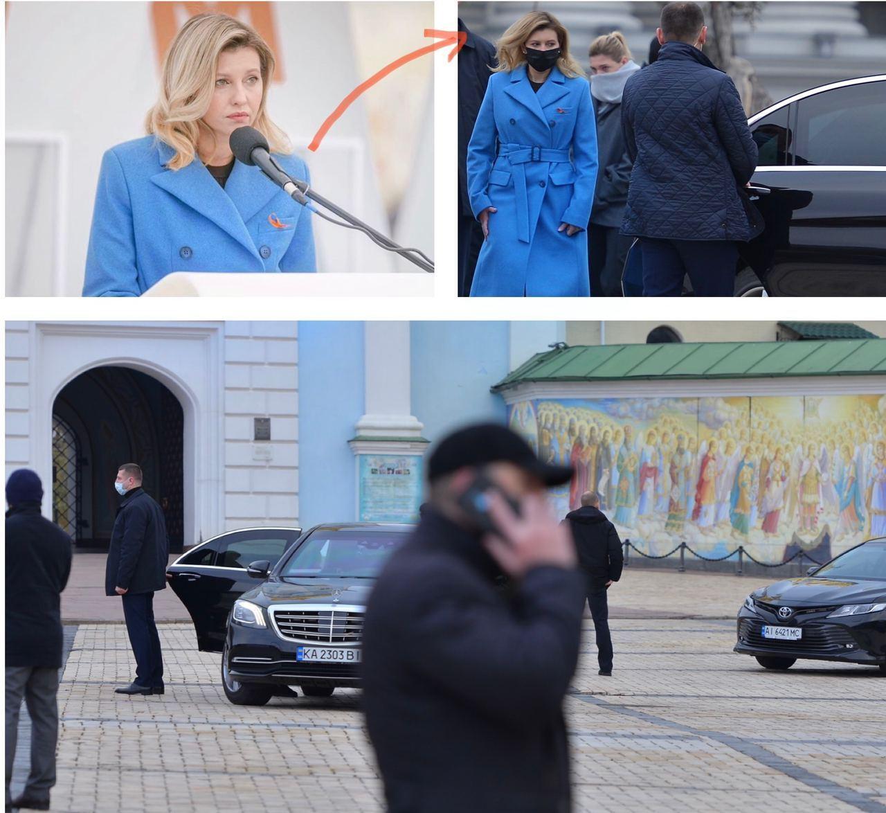 Жена Зеленского безнаказанно нарушает правила дорожного движения 1