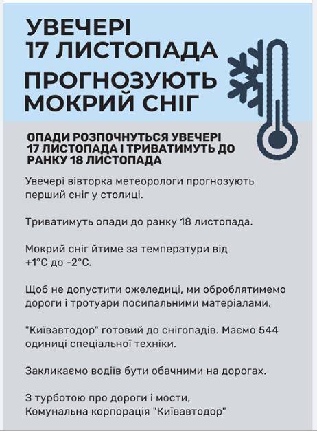 С вечера 17 до утра 18 ноября: Укргидрометцентр прогнозирует гололед 2