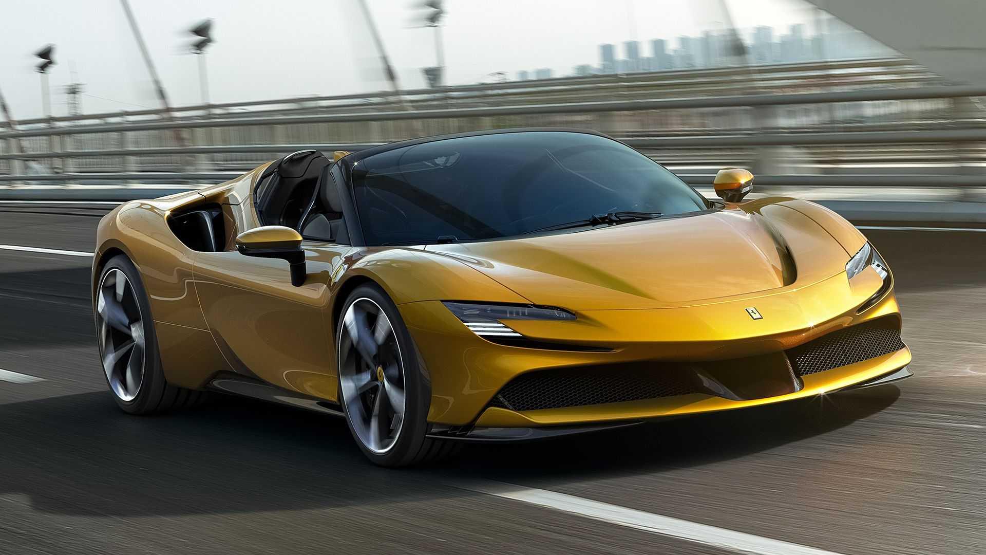 Официальные фото: Ferrari показала свой самый быстрый суперкар 1