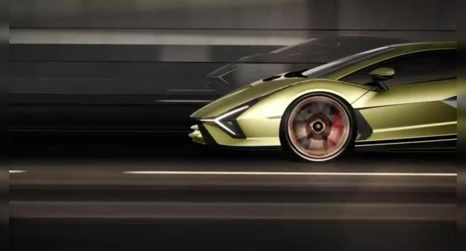 Уже на следующей неделе, Lamborghini представит новый спорткар   3