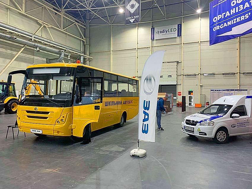 «ЗАЗ» представил новую линейку автобусов 3