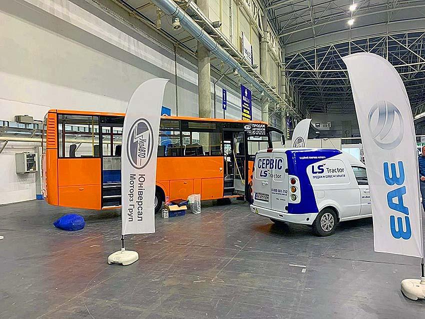 «ЗАЗ» представил новую линейку автобусов 2