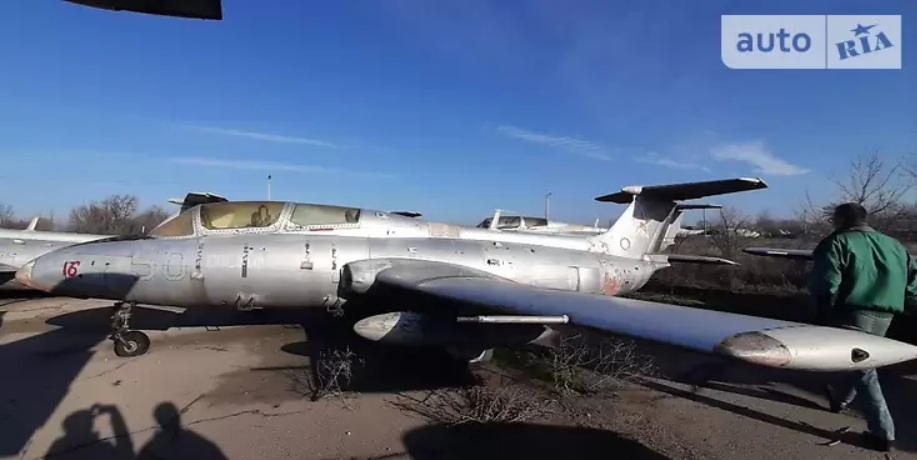 В Украине выставили на продажу самолет 1