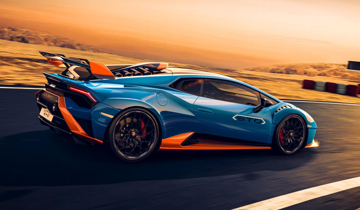 Lamborghini представила заднеприводный суперкар Huracan STO 4