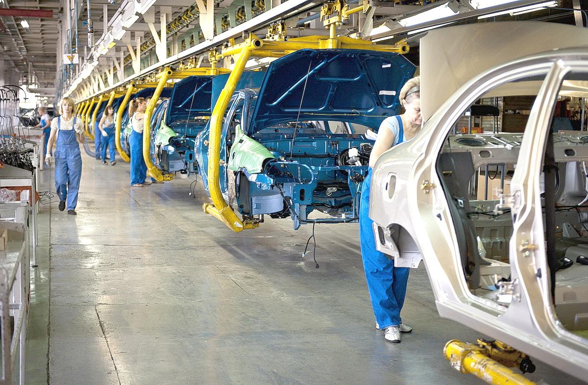 Сколько автомобилей произвел «ЗАЗ» в октябре 1