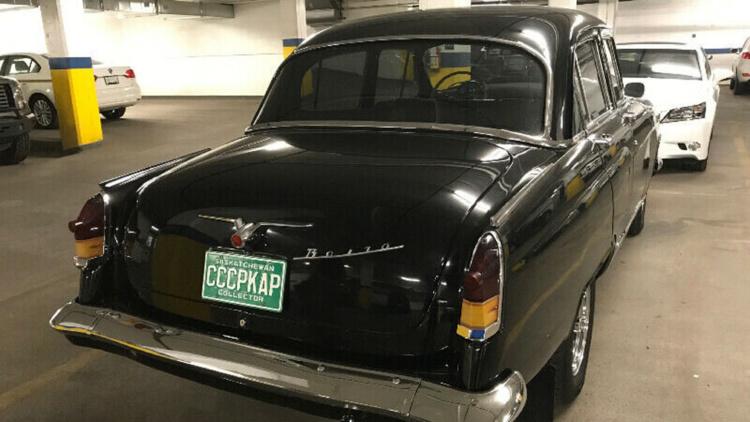 На продажу выставили «Волгу» 1966 года выпуска с двигателем от Toyota 2