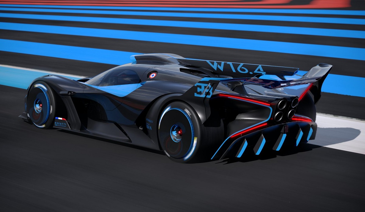 Bugatti представила болид с рекордными характеристиками 2