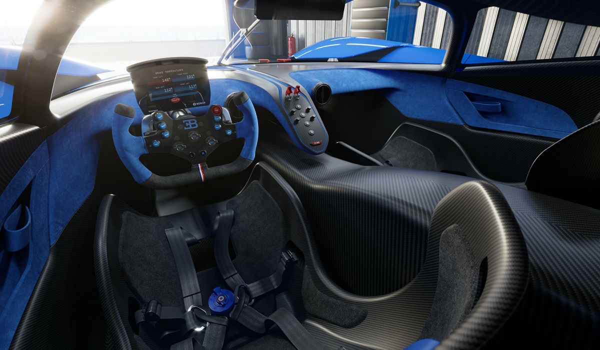 Bugatti представила болид с рекордными характеристиками 3