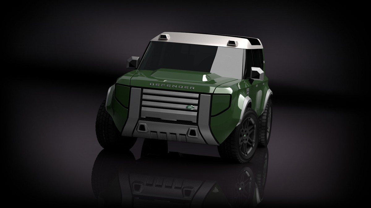 Компактный Land Rover Defender готовится к выходу 1