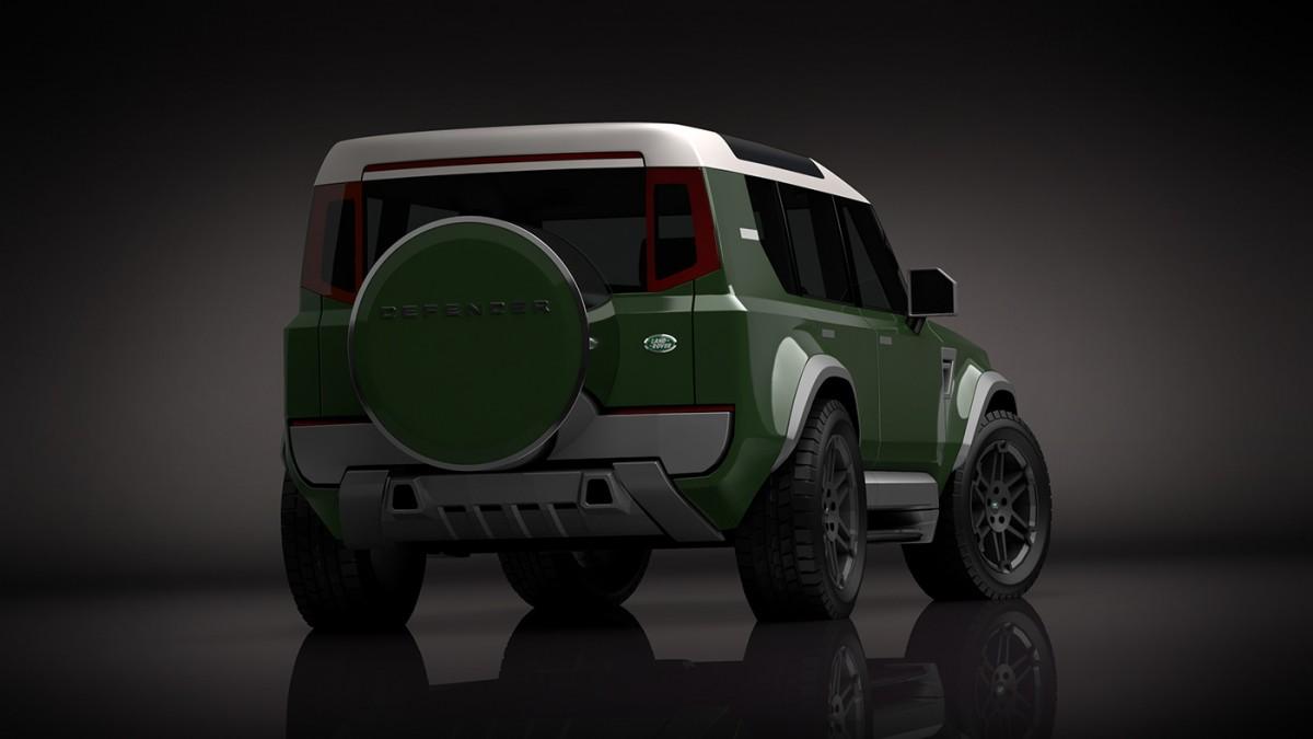 Компактный Land Rover Defender готовится к выходу 2